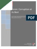 Enron Corruption at Its Best