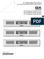 GX Series User Manual RevD