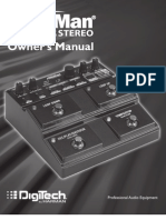 JamMan Stereo Manual 18-0707-B