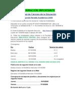 Inscripciones Educación
