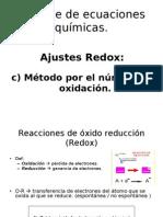 Clase 1.2, c) método del numero de oxidación