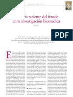 Fraude en La Investigacion Biomedica