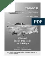 TMMOB İklim Değişimi Sempozyumu 2008