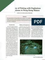 History of Fishing Wtrh Explosive & Poison in HK Water