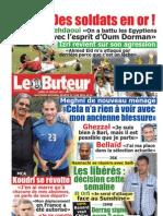 LE BUTEUR PDF du 25/07/2011