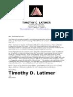 TDL Resume 08-08