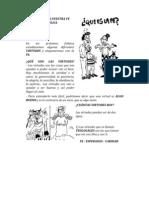 CONOZCAMOS NUESTRA FE | ALIANZA DE AMOR