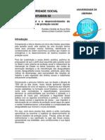 A QUESTÃO SOCIAL E O DESENV. DO SISTEMA  BRASILEIRO DE PROTEÇÃO SOCIAL