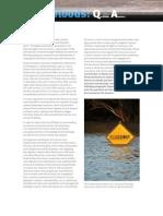 Flood Report Summary