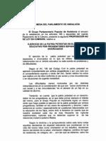 Proposición no de ley patria potestad PP