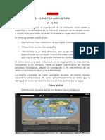 Tema # 2 El Clima y La Agricultura