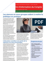 Congress Newsletter French 25 July
