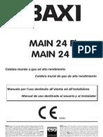 Manual Caldereta Baxi Main