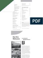 2011 Undergraduate Handbook