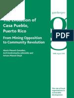 The Evolution of Casa Pueblo, Puerto Rico