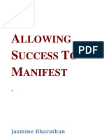 Allowing Success to Manifest by JasmineBharathan