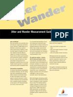 Jitter-Wander Measurements Guide
