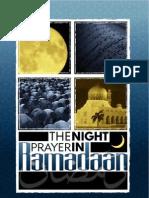 The Night Prayer in Ramadaan