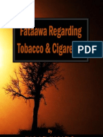 Fataawa Regarding Tobacco and Cigarettes