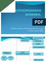 ELASTOSONOGRAFIA MAMARIA