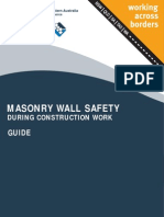Masonry Wall Safety