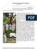 Church of the Holy Trinity Newsletter July PDF