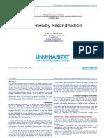 Eco-Friendly Reconstruction UN Habitat - Arwin Soelaksono