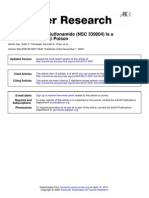 Cancer Res. 2000; 60, 5937-5940 Chloroquinoxaline Sulfonamide (NSC 339004) is a Topoisomerase IIab Poison