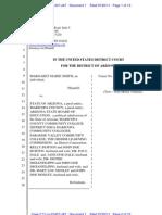 Smith v State of Arizona D-AZ Complaint 7-20-2011
