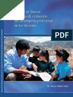 Manual de buenas prácticas de evaluación del desempeño profesional de los docentes