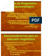 Metodos de Diagnostico Coproparasitologico