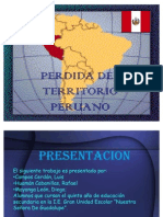 Perdida de Territorio Peruano(1)
