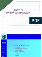 PPT 05FundamentosMatematicaFinanciera JFcoPacheco
