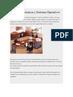 Suites Ofimaticas y Sistemas Operativos