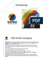 Changes in Wipro