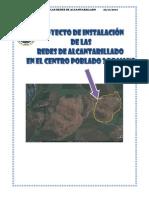 Proyecto de Instalacion de Redes de Alcantarillado