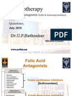 Pharmacology of sulfonamides