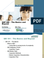 22284 - QM101 the Basics and Beyond