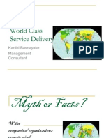 World Class Service Delivery New