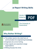 Lecture 1B - Technical Report Writing