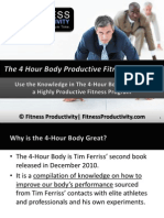 4 Hour Body Productive Fitness