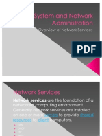 System and Network Administration Network Services