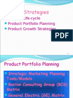 Product Strategies Cbfs