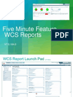 WCS Sample Reports