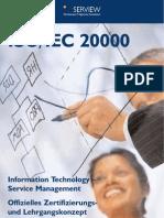 Flyer ISO 20000