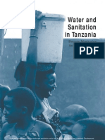 Water Nd Sanitation in Tanzania_poverty Monitoring for the Sector Using National Surveys