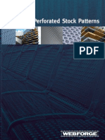 Webforge Perforated Panels-stock Patterns