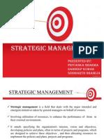 STREATEGIC MANAGEMENT