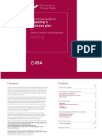 CIMA Business Plan