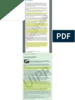 Sendos escritos de las web del PP y UIPR
